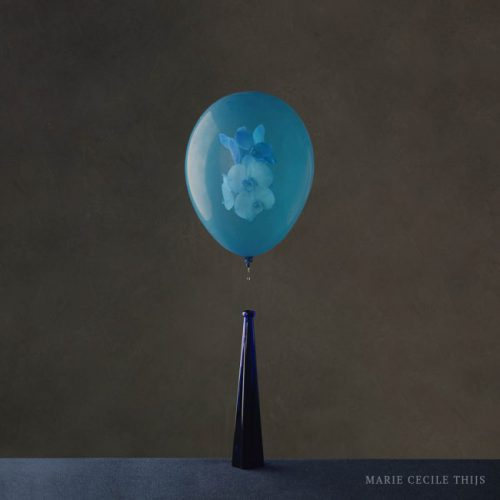 Blue Orchid in Blue Balloon